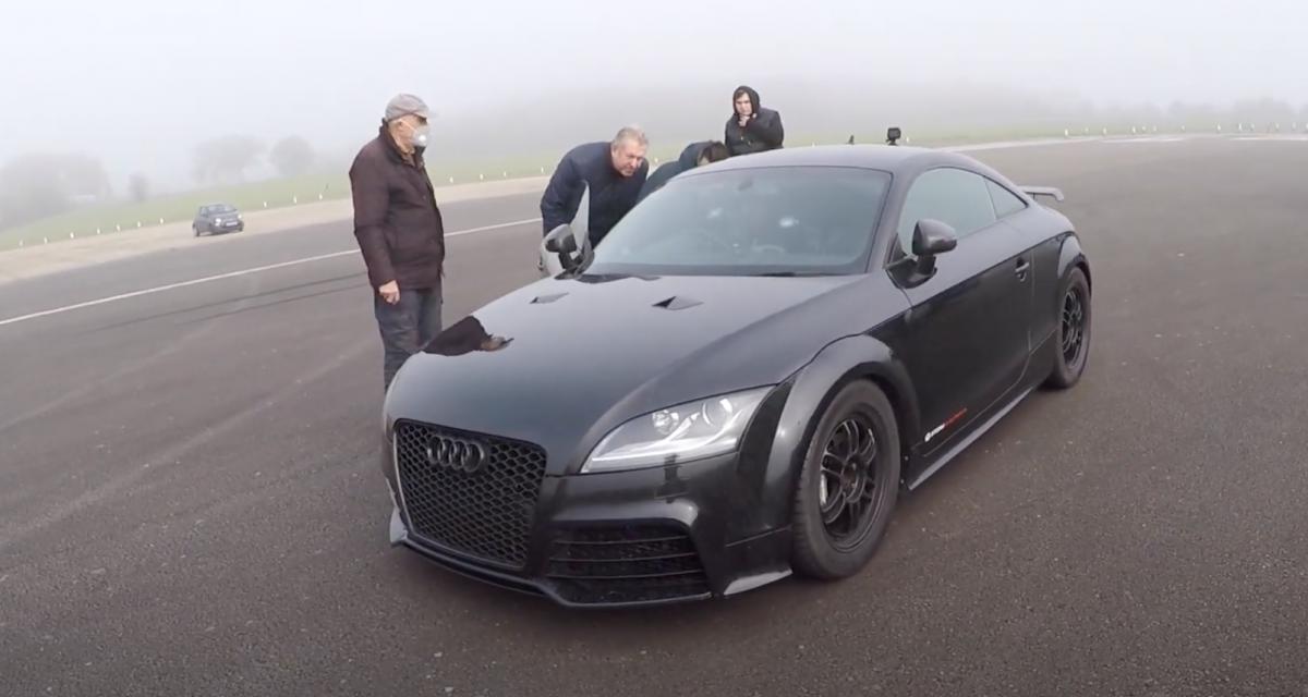 Audi TT RS de 1.100 chevaux : rencontre avec son proprio de 78 ans (vidéo)