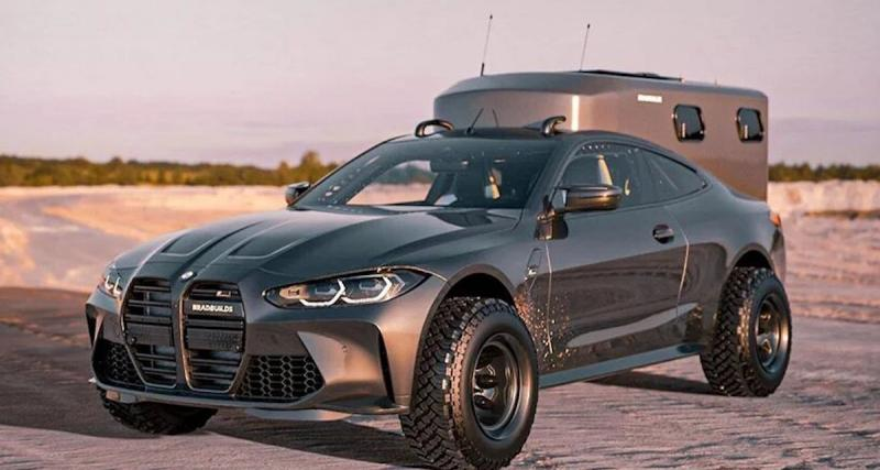 Camping-car BMW M4 : la grande aventure à la vitesse du vent