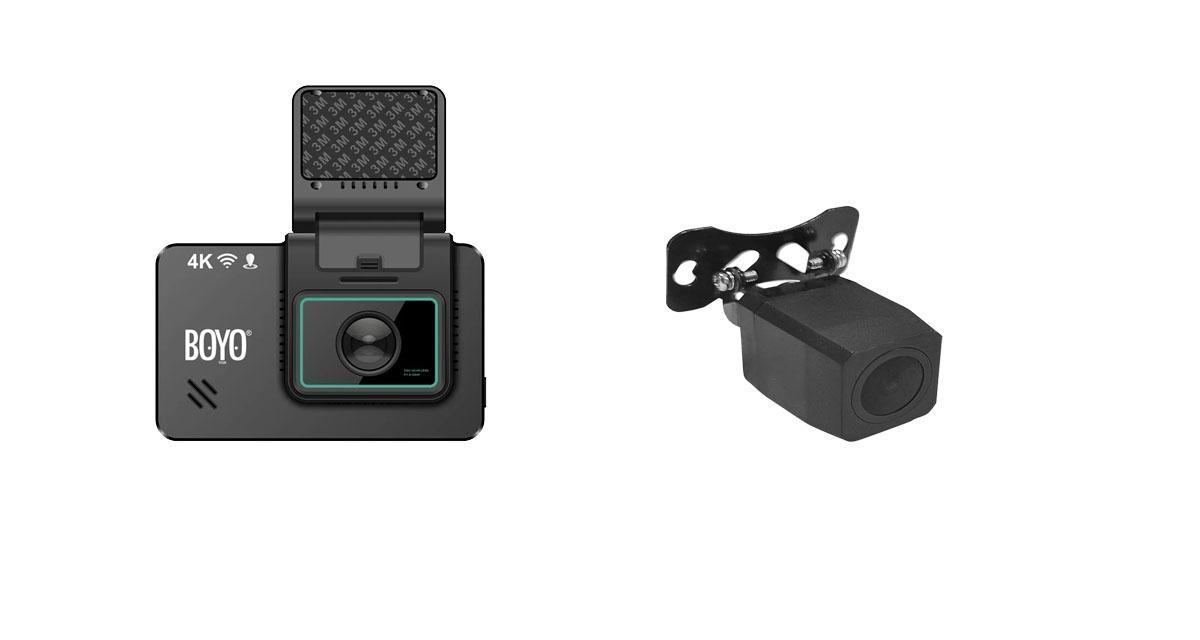 Boyo commercialise un pack dash cam avec une caméra 4K