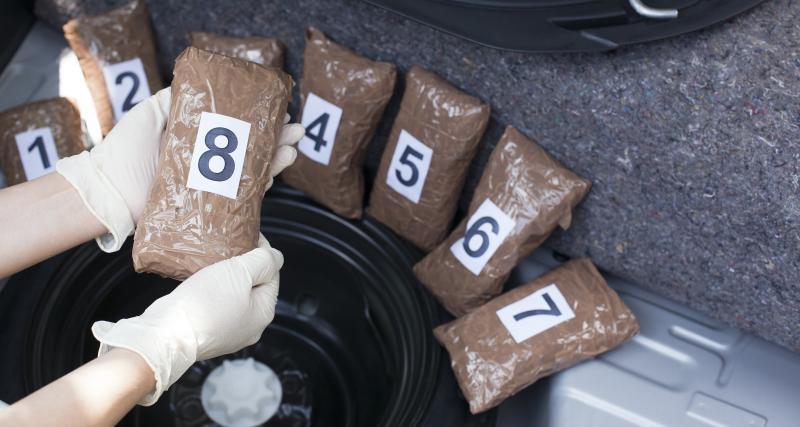 Saisie de drogue et excès de vitesse, les gendarmes découvrent des kilos de shit et de la cocaïne