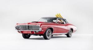 Mercury Cougar XR-7 cabriolet : une star mécanique de la saga James Bond aux enchères