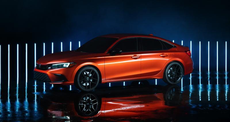 Honda Civic (2022) : sage conduite pour l'icône japonaise