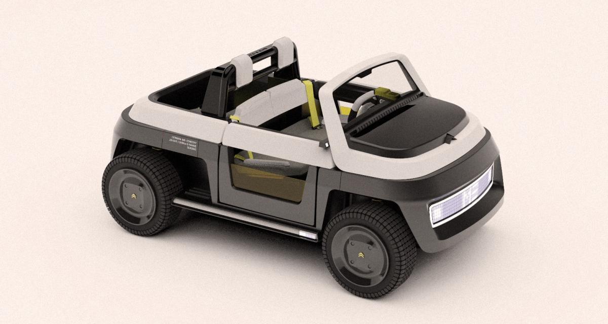 Citroën Me Concept : l'AMI des plagistes écolos