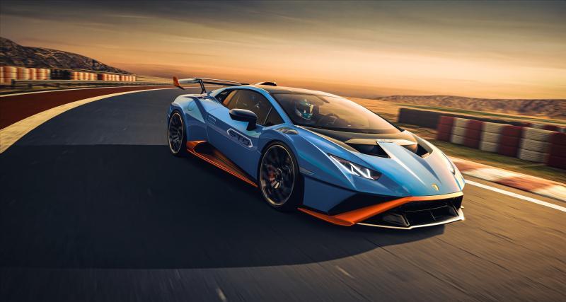 Lamborghini Huracán STO : ça va saigner !