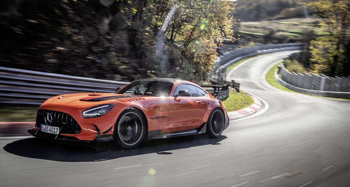 La Mercedes-AMG GT Black Series s'offre une nouvelle couronne sur le Nürburgring