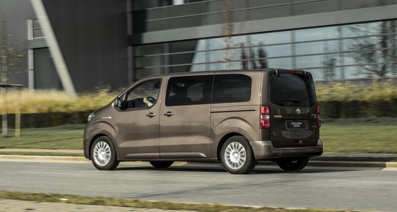 Toyota Proace Verso : le van électrique en 7 points