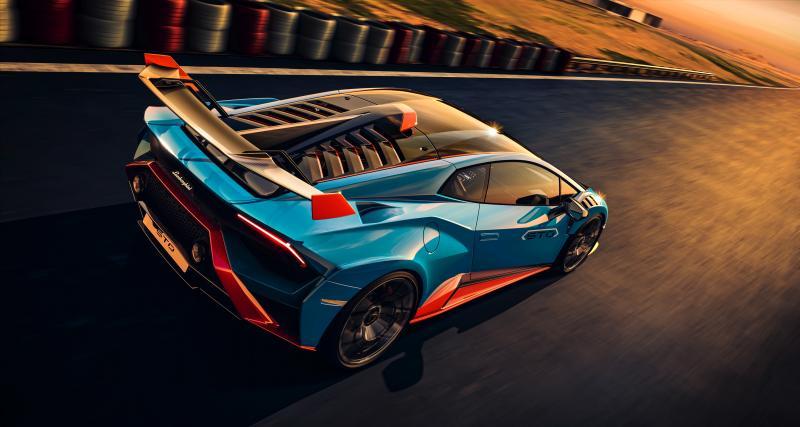 Nouvelle Lamborghini Huracán STO : le super-sportive italienne en 4 points