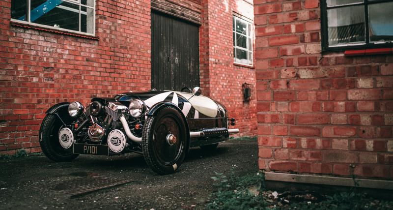 Morgan Three Wheeler P101 : une édition limitée avant de tirer sa révérence