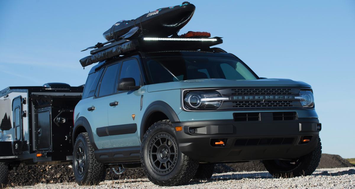Ford Bronco Custom & Cie : d'inédits concepts au SEMA show virtuel 2020