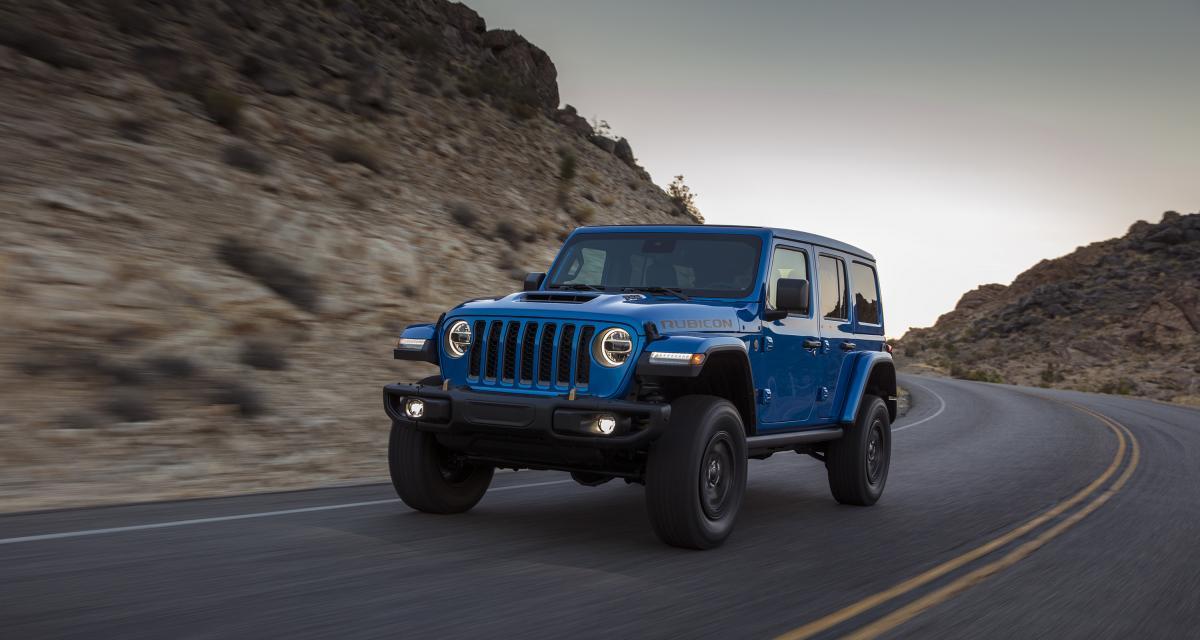 Jeep Wrangler Rubicon 392 (2021) : le retour du V8 !