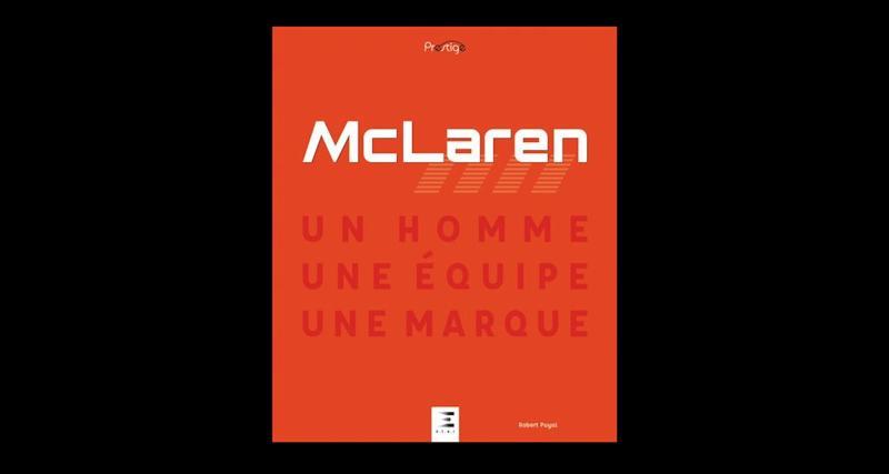 Robert, présentez-vous en quelques mots. Dites-nous aussi pourquoi vous avez fait le choix de McLaren pour votre dernier livre ?