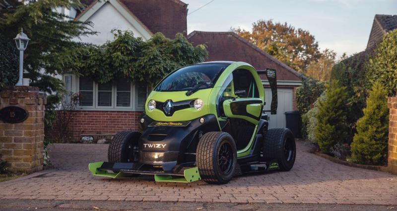 Voici la Renault Twizy F1, oui, vous avez bien lu