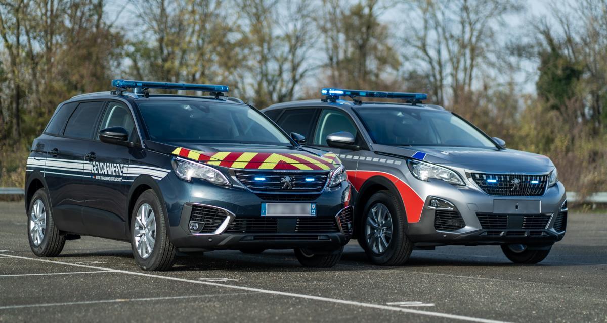 Made in France : 1.300 Peugeot 5008 pour la police et la Gendarmerie
