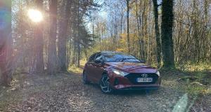 Essai nouvelle Hyundai i20 hybrid 48V : nos photos de la citadine en Dordogne