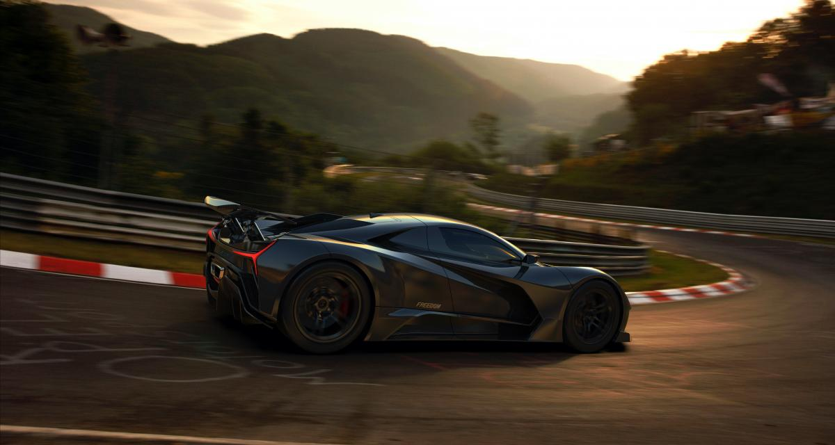 Eliation Freedom : une hypercar électrique made in America