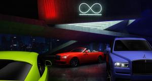 Rolls-Royce met la couleur à l'honneur avec son fabuleux trio Neon Nights