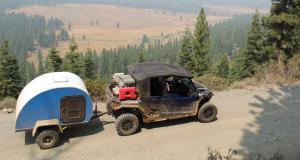 Mini caravane Boony : la roulotte amie des quads !