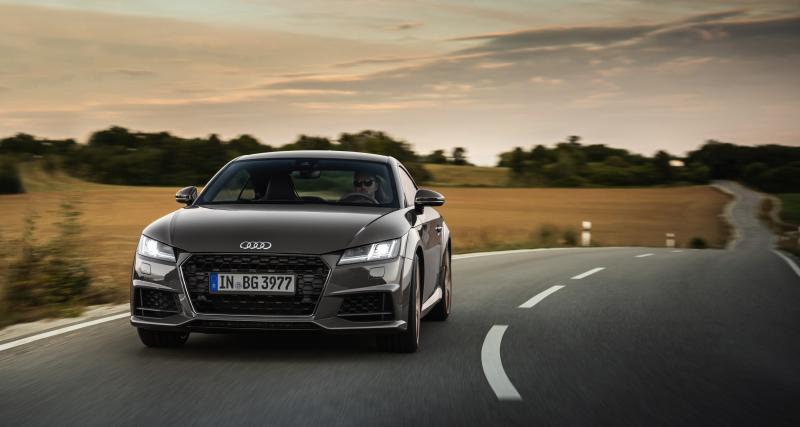 Audi TT bronze selection & TTS competition plus : nouvelles finitions pour la sportive