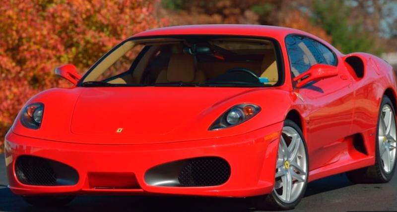 Une Ferrari F430 mais aussi une Rolls-Royce Phantom ayant appartenu à Donald Trump sont à vendre
