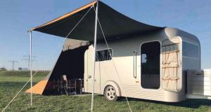 Caravane Lume Traveler : la caravane naturelle et hyper design