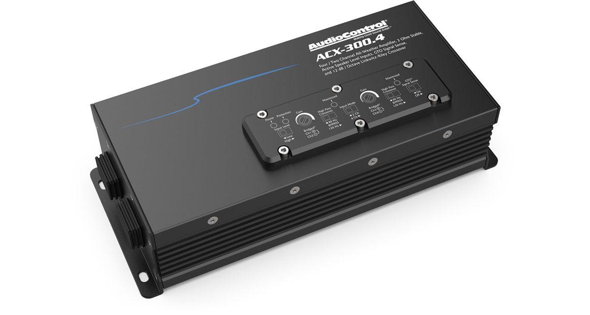 Des nouveaux amplis pour les véhicules de loisirs chez AudioControl