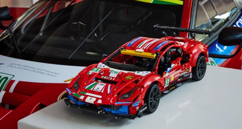 LEGO met l'endurance à l'honneur avec la Ferrari 488 GTE