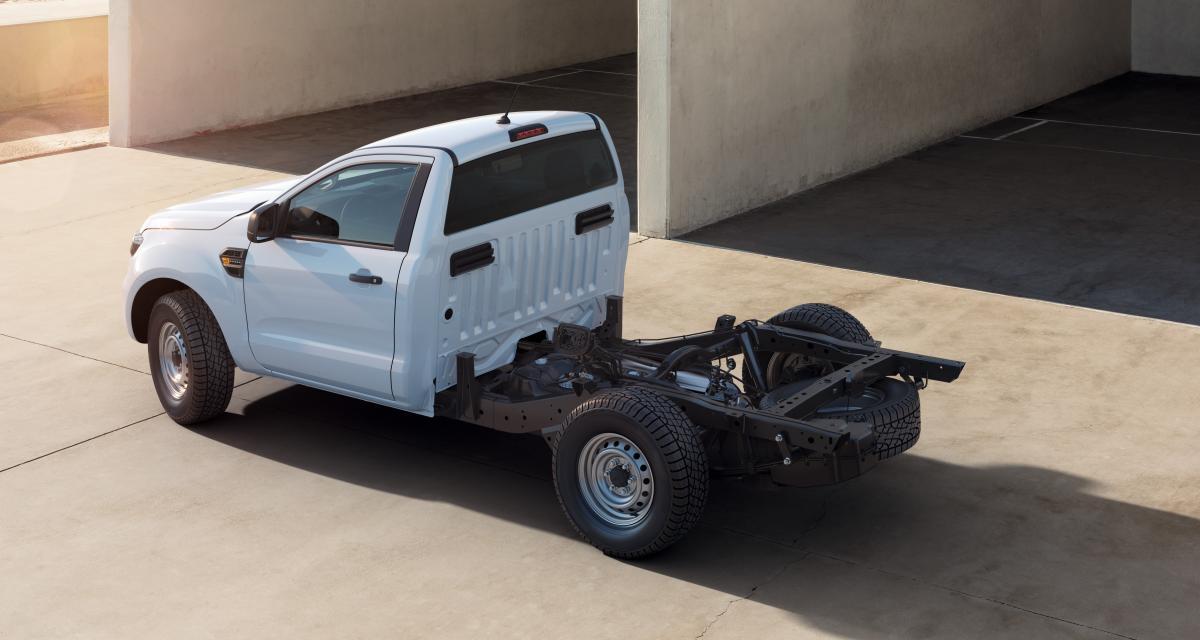 Ford Ranger châssis-cabine : nouvelle déclinaison disponible dès décembre 2020