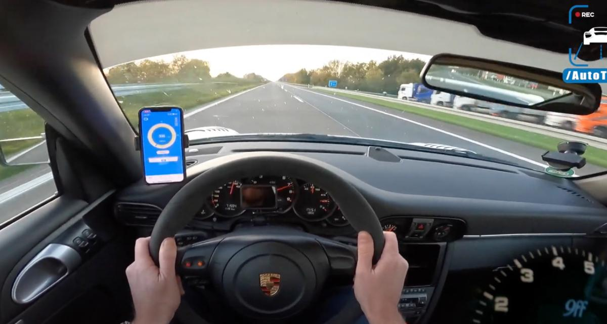 À fond de compteur : cette Porsche 9ff 911 GT3 atteint les 340 km/h en toute légalité (vidéo)