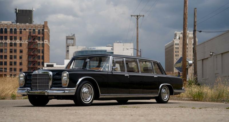 Cette limousine de l'Etat chinois est à vendre pour la modique somme de 285.000$