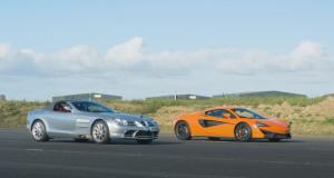 Combat des générations entre une McLaren 540C et une Mercedes McLaren SLR (vidéo)