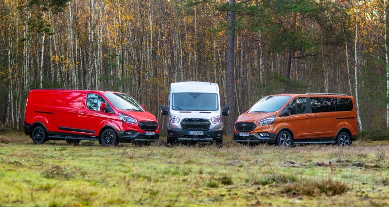 Essai Ford Transit/Tourneo Custom Active & Trail : une attractivité aussi renforcée que leur motricité