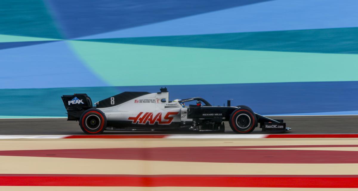 GP de Bahreïn de F1 : le crash de Romain Grosjean en vidéo