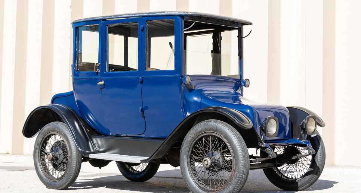 Detroit Electric Model 93 : le lointain ancêtre américain de la Zoé