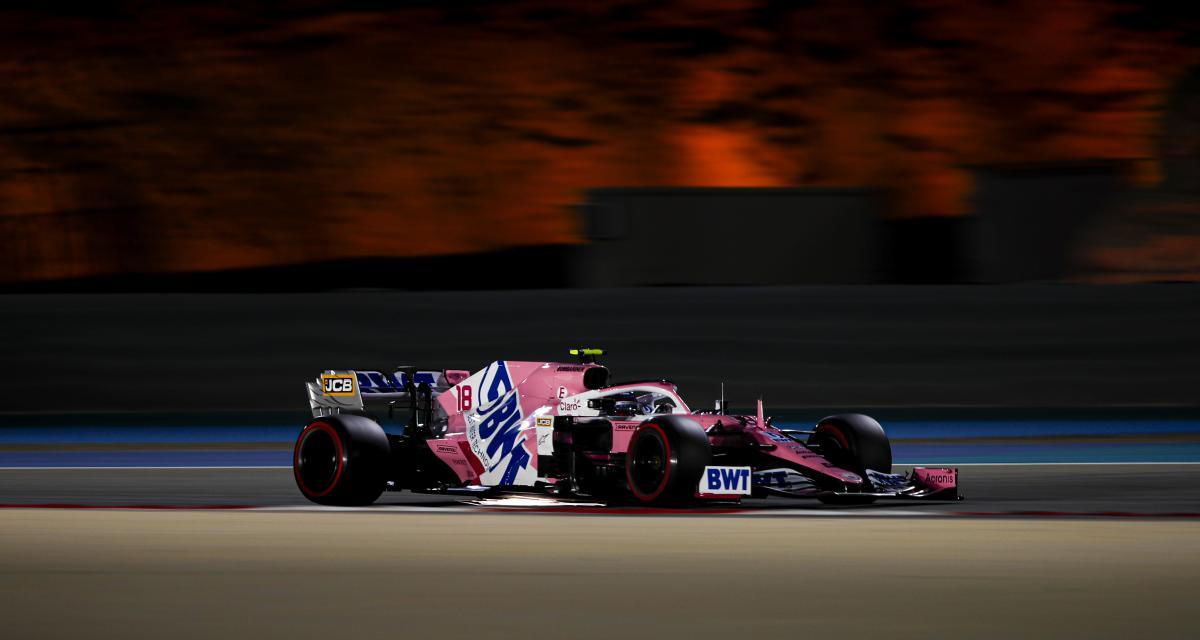 GP de Bahreïn de F1 : le tonneau de Lance Stroll en vidéo