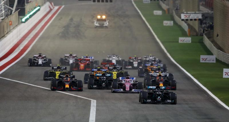 GP de Bahreïn de F1 : les moments forts de la course en vidéo