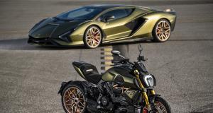 Ducati Diavel 1260 Lamborghini : quand un monstre mécanique en inspire un autre