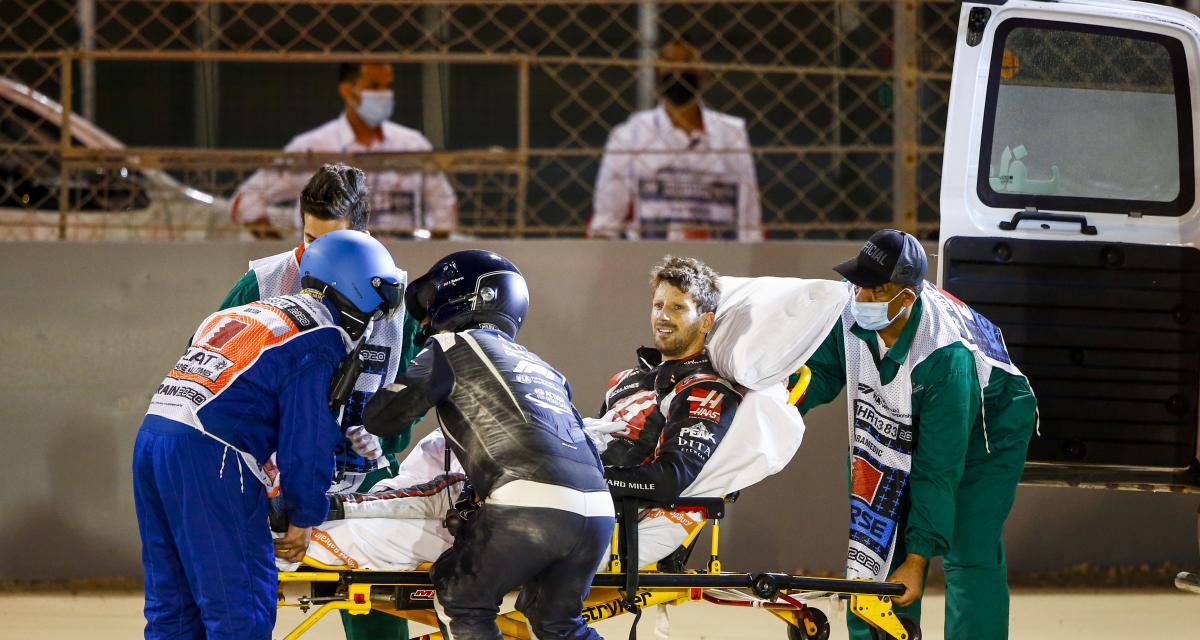 Grosjean, Leclerc, Kvyat… les plus gros crashs de la saison 2020 de F1
