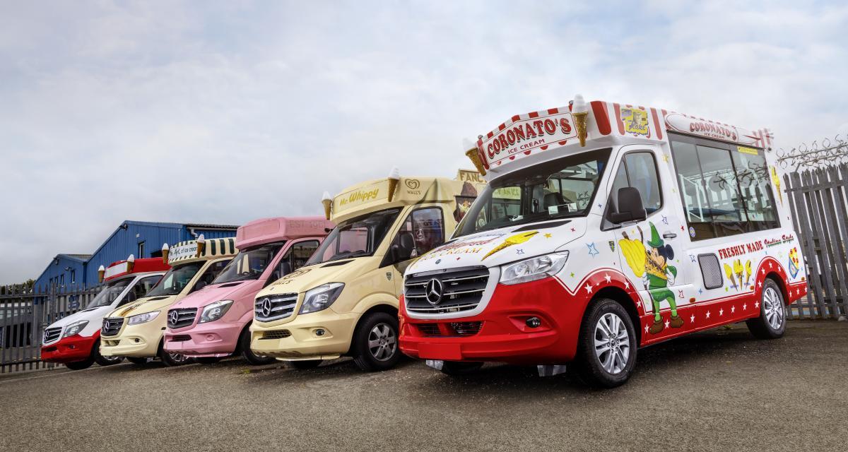Mercedes Sprinter Ice-Cream Van : la vente de glaces ambulante reprend du service