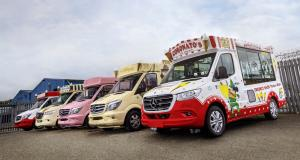 Mercedes Sprinter Ice-Cream Van : la vente de glaces ambulante reprend du service