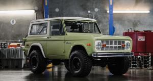 Ford Bronco Custom : un grand classique de la personnalisation rétro à l'américaine
