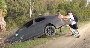 Un célèbre Youtubeur arrêté pour avoir abandonné une vieille BMW Série 3 en pleine nature (vidéo)