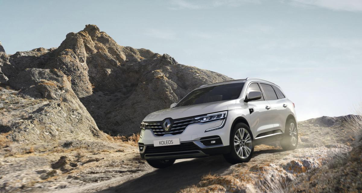 Renault Koleos (2021) : les prix du SUV haut de gamme