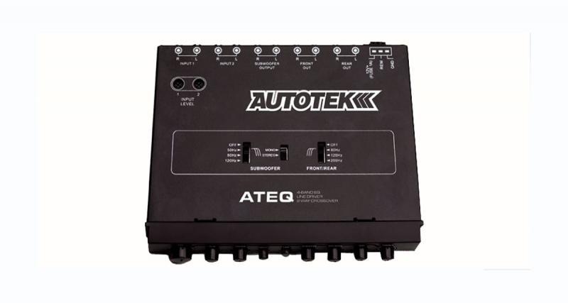 Autotek dévoile un préampli ½ DIN avec égaliseur et filtre actif