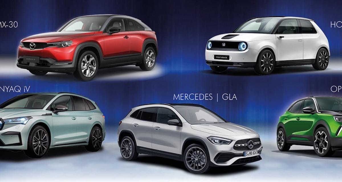 Plus belle voiture de l'année 2021 : qui pour succéder à la BMW Série 2 Gran Coupé ?