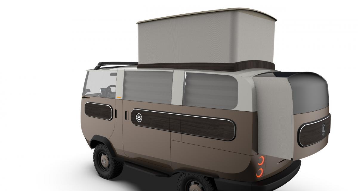 eBussy Camper : le camping-car amovible et électrique, un vrai couteau suisse !