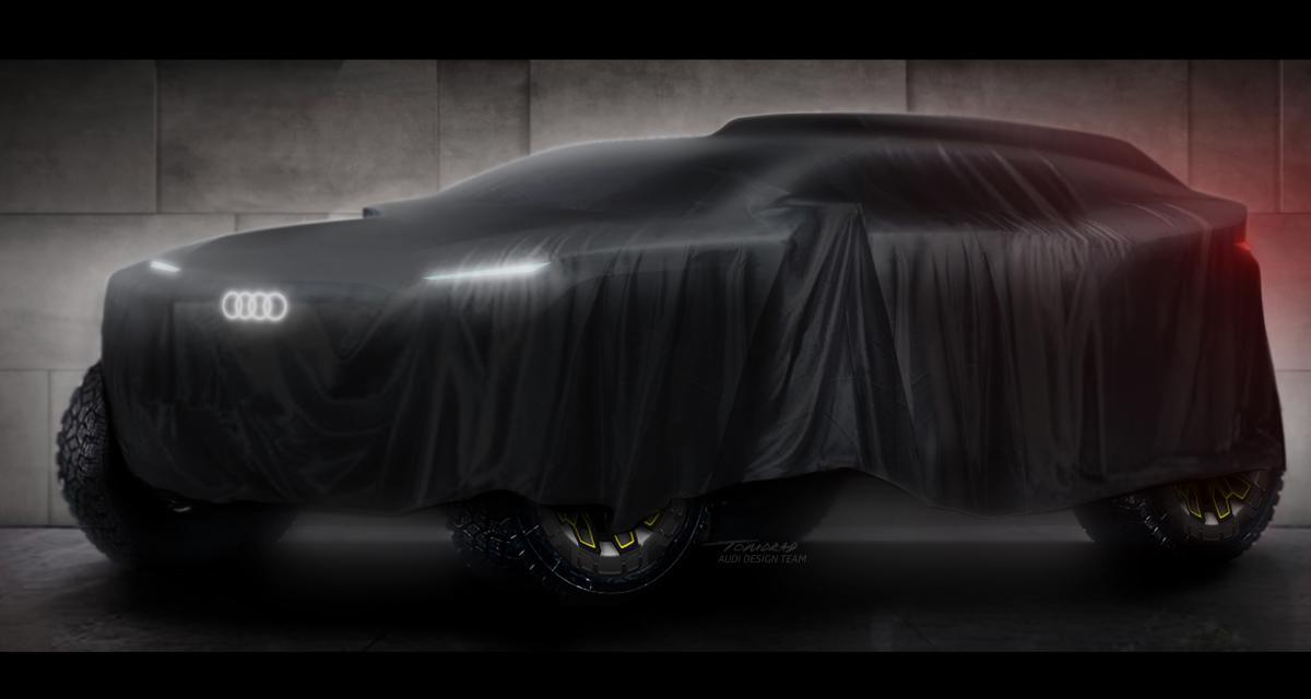 Objectif Dakar en électrique pour Audi Sport en 2022