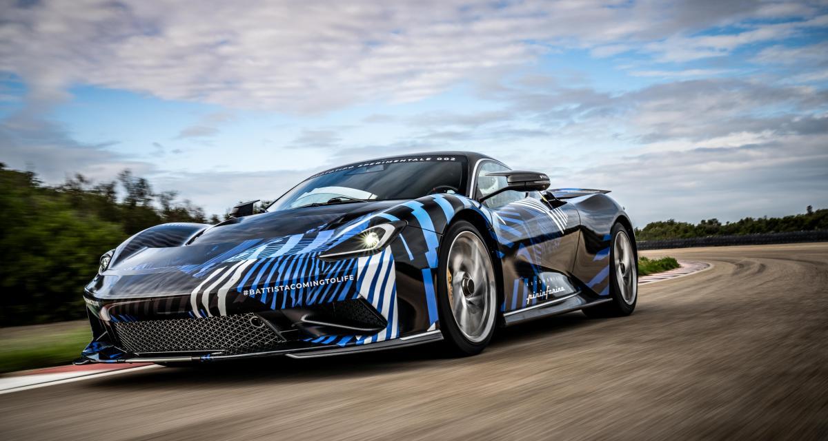 Pininfarina Battista : développement à vitesse grand V pour l'hypercar