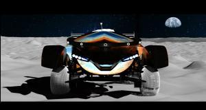 Des voitures télécommandées sur la Lune en 2021 grâce à SpaceX