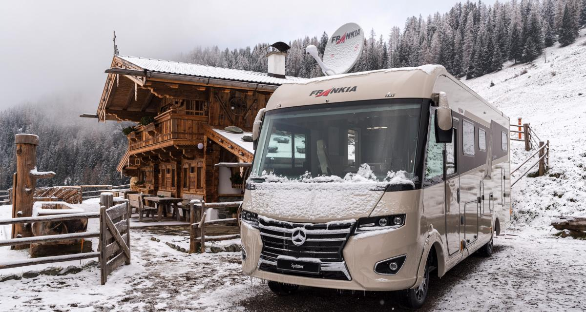 Le camping-car en hiver, pourquoi pas ?