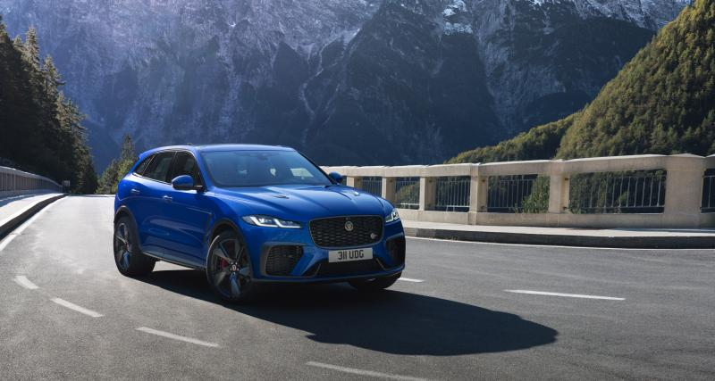 Jaguar F-Pace SVR (2021) : le puissant SUV débarque en version restylée